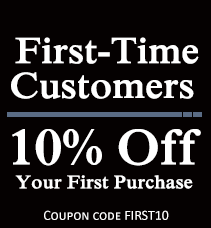 10% Off Your First Purchase For First-Time Customers - Coupon Code FIRST10